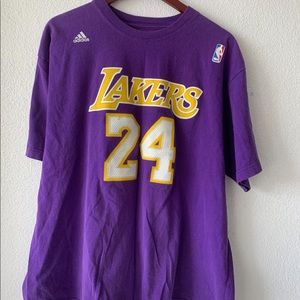 Adidas LA Lakers Purple XL Tracksuit